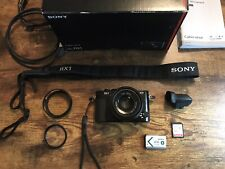 Sony DSC-RX1 24.3MP w/ View finder, lens hood, 32gb card, 49mm filter, strap