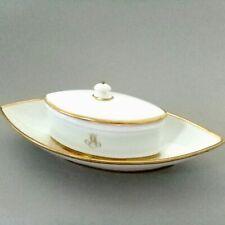 BEURRIER etc... Porcelaine de Paris  Empire d. XIXe