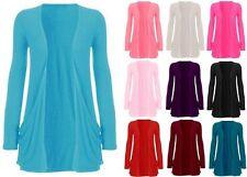 Markenlose hüftlange Damen-Pullover & -Strickware aus Viskose