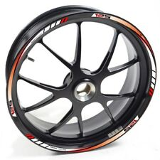 UKEN Sticker wheel Rim Aprilia RS4 125 RS 4 Red White strip tape vinyl adhesive