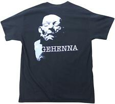 GEHENNA Black T-SHIRT Large L 2000s Metalcore Hardcore Unbroken Integrity Infest