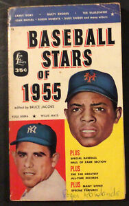 BASEBALL STARS OF 1955 PUBLISHED BY LION LIBRARY