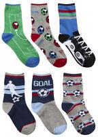 Boys Warm Cosy Fairisle Lounge Socks Anti Non Slip Grippers Gift Diamonds 12.5-6