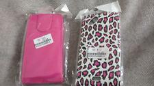 2 x Handytasche Flipcase Sony Ericson X12 neu! pink und Tigerprint