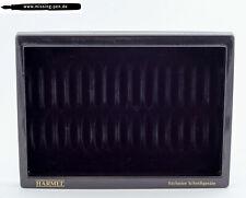 vintage used Harmel Tray / Tablett in Black for 15 Pens (2)