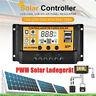 10-100A 12V/24V MPPT Solar Panel Regulator Charge Controller Auto Focus Tracking