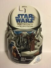 Star Wars The Legacy Collection BD No.33 Jawa & Treadwell Droid  NOC 2008