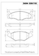 Disc Brake Pad Set-Metallic Pads Front Pronto PMD280