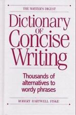 The Writer's Digest Dictionary of Concise Writing-ExLibrary