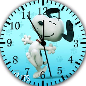 """Snoopy wall Clock 10"""" will be nice Gift and Room wall Decor E372"""