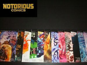 The Dreaming Waking Hours 1-12 Complete Sandman Comic Lot Run Set DC G Willow
