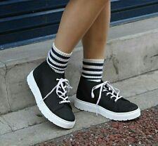 Dr Doc Martens Boots Chukka Womens Size 11 US Flat Black