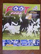 ALBUM PANINI-FOOT 2008~CHAMPIONNAT de FRANCE~LIGUES L1 & L 2~6 VIGNETTES LE MANS