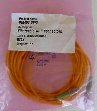 New Fiber Optic Cable Assembly With Connectors Pm403 09/2