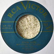 Eddy Arnold Rockin Alone 45 VG++ to NM Green Vinyl Western I'm Thinking Tonight