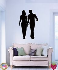 Wall Stickers Vinyl Love Couple Fall in Love Romantic Decor For Bedroom (z1684)