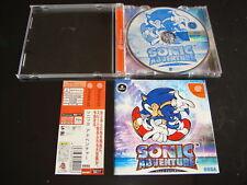 Sonic Adventure w/spine Sega Dreamcast Japan