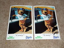 Omaha Royals/Omaha Storm Chasers/Signed Casey The Lion 1994 Debut Photo Giveaway