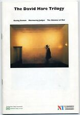 Racing Demon Absence Of War David Hare Trilogy 1993 National Theatre Programme