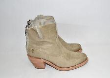 "New! Frye ""Leslie"" Artisan Bone Distressed Leather Short Boot Size 7 B  76583"