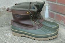 VNTG Sporto Men's Original Leather Winter Duck Boots Insulated Thermolite Size 7