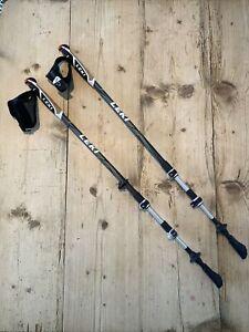 LEKI Speedlock Traveller Alu Adjustable Nordic Walking Stick Aid Poles 70-130cm