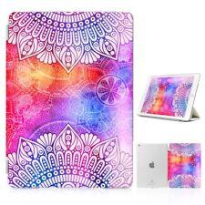 ( For iPad 2 3 4 ) Front Back Case Cover PB40186 Spirit Mandala