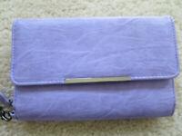 "NEW Safe Keeper Womens Lavender Wallet Organizer 7"" X 4.5"""