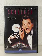 SCROOGED - DVD - BILL MURRAY 1988 COMEYD MOVIE - Karen Allen - REGION 4