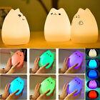 LED Children Night Light Cute Little Devil USB Rechargeable Multic-color Lamp
