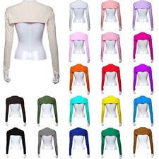 Women Modal Muslim Hijab Islamic Shoulder Long Sleeve Crop Tops Shawl Arm Cover