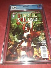 Suicide Squad 1 CGC 9.8 New 52 KEY 1st Harley Quinn in SS 2011 movie DC Comics
