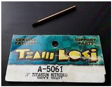 "Vintage Team Losi .9"" Titanium Nitrided Shock Shaft XXX Buggy LOSA5061 A-5061"