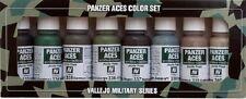 VALLEJO MODEL COLOR ACRILICO 70128 - PANZER ACES PAINT SET 5