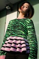 KENZO H&M JUMPER TIGER STRIPE WOOL SIZE SMALL
