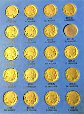 Coins From Page 3 Of 1913-1938 Buffalo Nickel Folder