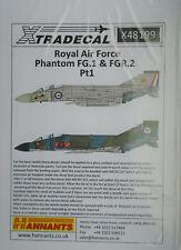 Xtradecal 1/48 X48199 RAF McDonnell Douglas Phantom FG.1 + FGR.2  Pt 1 decals