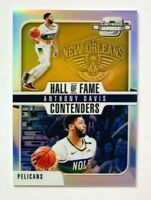 2018-19 Contenders Optic Anthony Davis SILVER Prizm Card, Hall of Fame, Pelicans
