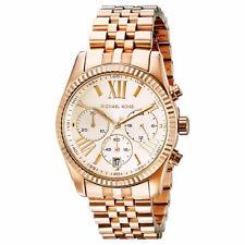 Michael Kors MK5569 Lexington Chronograph Rose Tone Ladies Wrist Watch UK