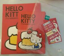 Hello Kitty Writing Set & Stickers From Japan Letter Paper Sheets Envelopes