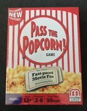 PASS THE POPCORN Fast-paced Movie Guessing Game 2-8 Players Teens Adults Gift