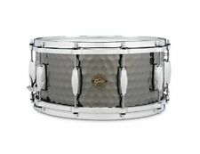 Gretsch Drums Hammered Black Steel Snare Drum - 6