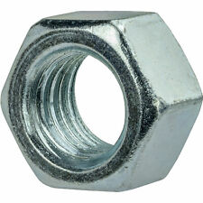 """2""""-12 Finished Hex Nuts Zinc Plated Steel Grade 2 Qty 10"""