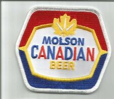 Molson Canadian Beer patch 3-1/8 X 3-1/2 #5029