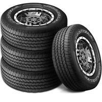 4 Goodyear Wrangler Fortitude HT 265/70R17 115T OWL All Season 65K Mi Truck Tire