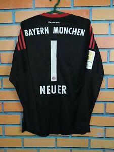 Neuer Bayern Munich Jersey 2017/18 Goalkeeper Kids Boys XL Shirt Adidas AZ7945