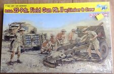 Dragon 1/35 6675 British 25-Pdr.Field Gun Mk.II w/Limber &Crew