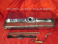 """61-64 Chevrolet STAINLESS STEEL gas tank, strap kit & 3/8"""" line sending unit"""
