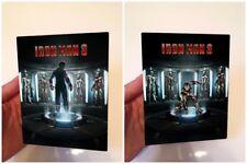 IRON MAN 3 v3 Magnet cover Flip effect for Steelbook