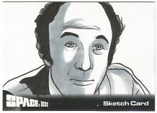 Space 1999 Series 1 Gerry Anderson Sketch Card created by Rich Molinelli [ A ]